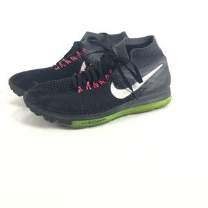 Women's Zoom All Out Flyknit, Black/Cool Grey